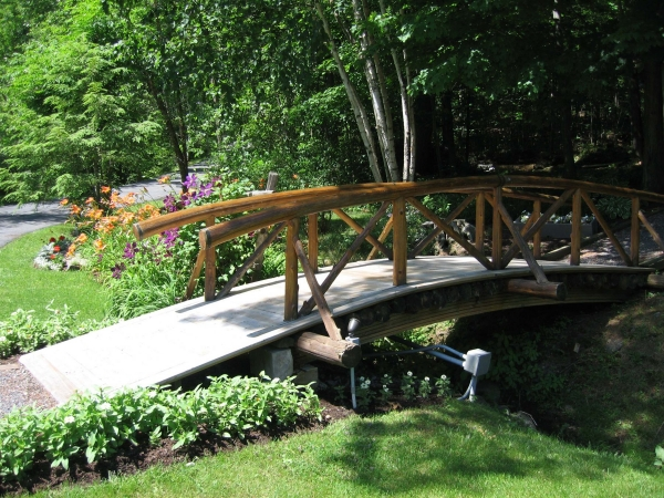 Small bridge over creek