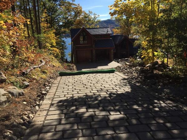 Paver Stone driveway